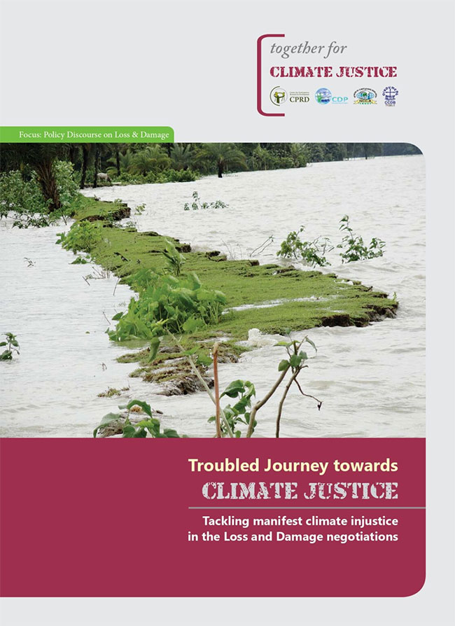 Troubled Journey towards Climate Change: Tackling manifest climate injustice in the Loss and Damage negotiations