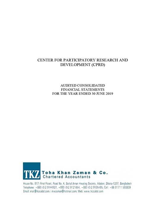 cprd audit report 2018-19