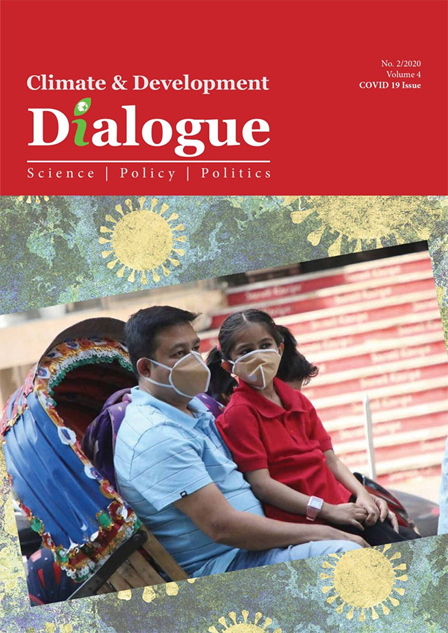 CLIMATE AND DEVELOPMENT DIALOGUE VOLUME 04 (COVID-19) ISSUE